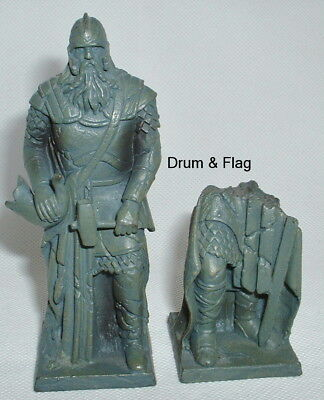 Helm Hammerhand & Ruined Statues. Play Along Helms Deep Parts Lotr Aome. Not Gw!