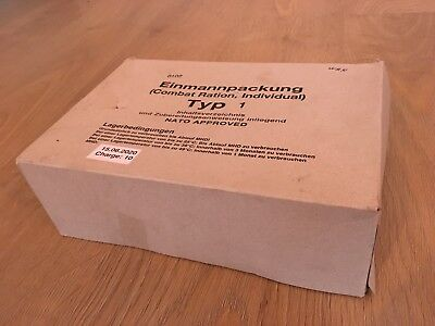 Einmannpackung (EPA) - Combat Ration, Individual - Typ 1 - NATO approved