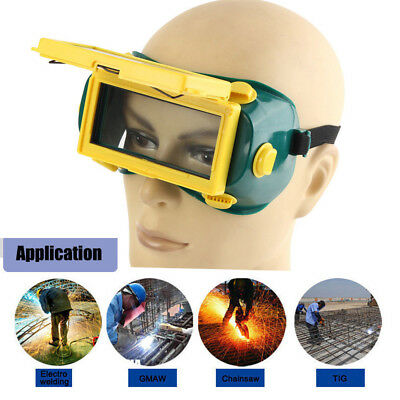 New Pro Solar Auto Darkening Welding Mask Helmet Eyes Goggle Welder Glasses Arc