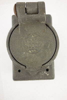 Vintage WWII Navy Ship Hubbell Electrical Box