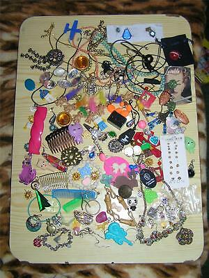 Job Lot Bundle Of Bits And Pieces Oddments Etc Craft Making Art Own Use