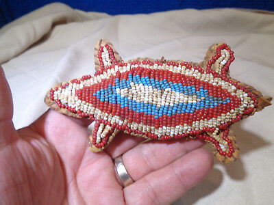 ~*~Estate Find~*~*  Native American Style Beaded Turtle Fetish
