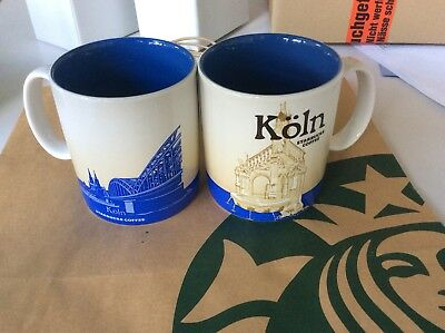 Starbucks City Global Icon 16 Oz Köln / Germany 1 Tasse / Mug