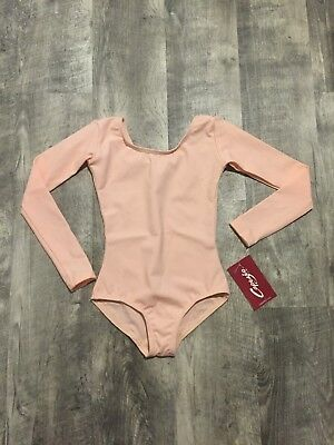 Ballet / Dance Leotard by Capezio - NEW - child size small 4/5 - long sleeve
