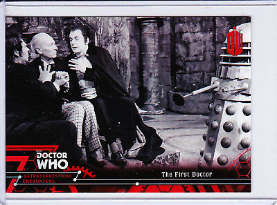 Doctor Who Extraterrestrial Encounters Red Parallel Base Card Selection (/25)