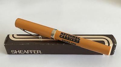 Vintage Boxed Sheaffer National Carriers Screw-Top Pen - Needs a New Refill