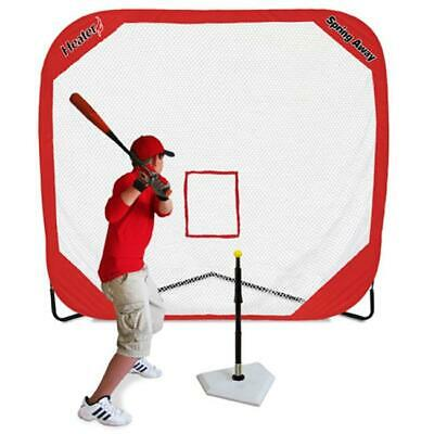 Heater SA99 Spring Away Tee And 7 x 7 ft. Pop-Up Net