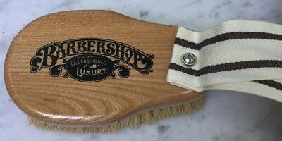 Barbershop Brand Western Scrub Brush by Franklin Toiletry Co.- Brand New