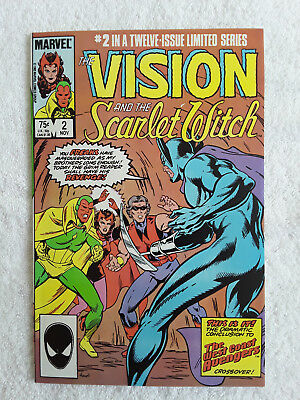 The Vision and the Scarlet Witch #2 (Nov 1985, Marvel) Vol #2 NM