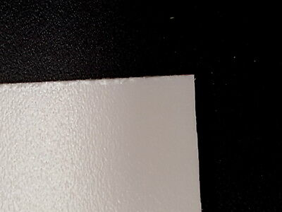PVC Foam sheet White, Black or colours  3 or 5mm thick samples and small pieces