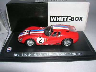 Calcas Maserati 151 Le Mans 1962 2 3 1:32 1:24 1:43 1:18 Slot Decals Stickers, Decals & Iron-ons