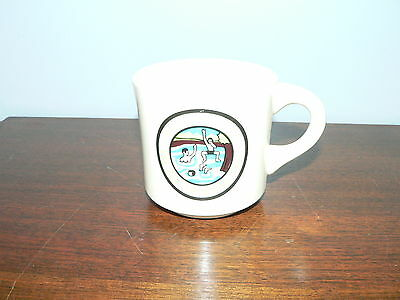 """Vintage Boy Scouts of America BSA Riley C.O.A.C. """"The Old Swimming Hole"""" Mug"""