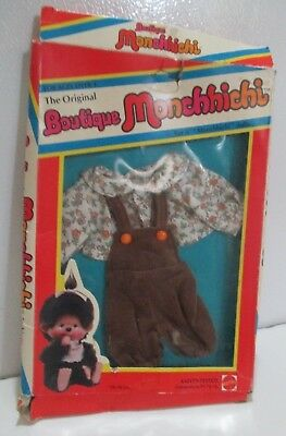 Nos Vintage Boutique Monchhichi Country Kid Outfit