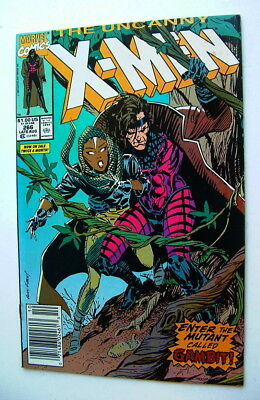 1990 The X Men Issue #266 Comic Book First Gambit Appearance 7.0 Condition