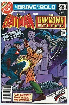BRAVE AND THE BOLD #146 Jan 1979 DC Comics BATMAN & THE UNKNOWN SOLDIER