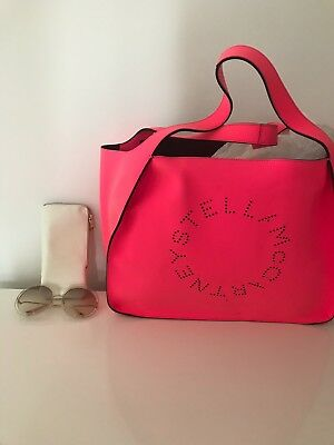 SHOPPER STELLA McCARTNEY ROSA FLUO