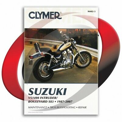1987-2004 Suzuki VS1400 Intruder Repair Manual Clymer M482-3 Service Shop