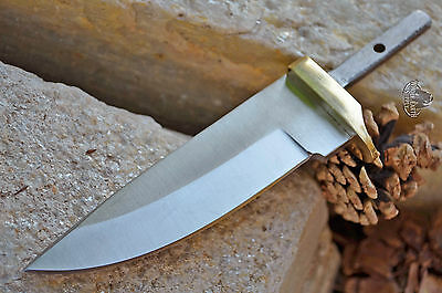LOT OF 2 Knives Guard Drop Bolster Guard Point Knife w/Brass Point Custom Blade