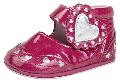 Agatha Ruiz De La Prada Infants Leather Shoes Girls Easy Fastening Party Booties