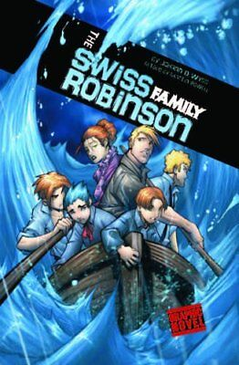 The Swiss Family Robinson (Graphic Revolve), Wyss 9781406224986 Free Shipping=#