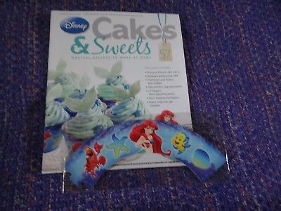 Eaglemoss Disney Cakes & Sweets Magazine #112 Partial Free Gift