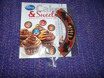 Eaglemoss Disney Cakes & Sweets Magazine #65 with Free Gifts