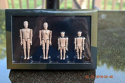 Acme: 1:18 - Crash Test Dummies Figures -This  Is For One Set -No Paper Box-Read