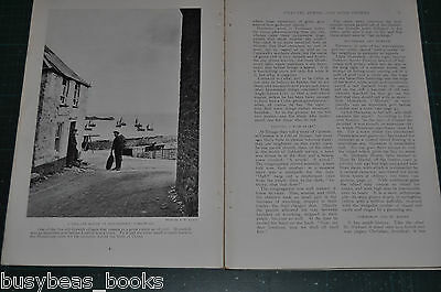 1915 magazine article  BRITISH CHANNEL PORTS small towns people history pre WWI