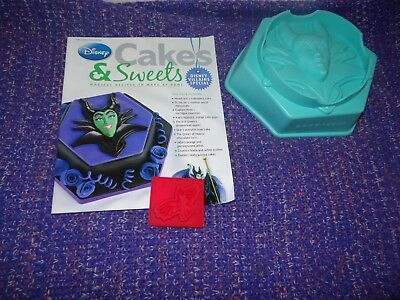 Eaglemoss Disney Cakes & Sweets Magazine Disney Villains Special With Free Gifts