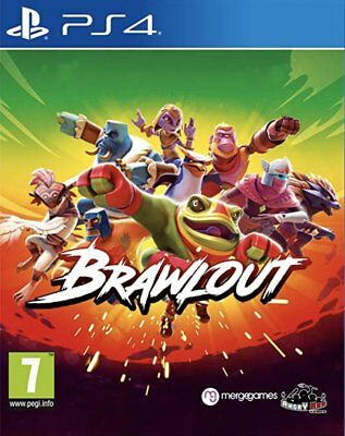 Brawlout (PS4)  BRAND NEW AND SEALED - IN STOCK - QUICK DISPATCH - FREE UK POST