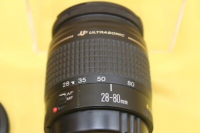 Canon Ultrasonic EF 28 - 80mm Zoom Clean Optics  ##BAK08JWG