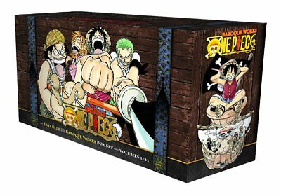 One Piece Box Set: East Blue and Baroque Works (Volumes 1-23) [Book, Paperback]