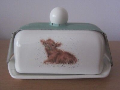 Royal Worcester Wrendale Covered Butter Dish - New In Sleeve