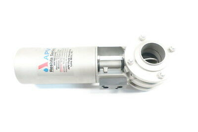 Apv Rosista Series Pneumatic Stainless 1-1/2in Butterfly Valve