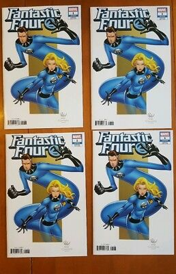 Fantastic Four Vol 6 #1 Mike Wieringo Variant Cover, Marvel