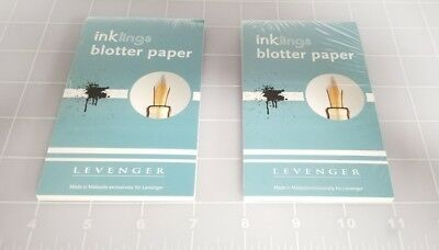 Judd's Lot of 2 NEW Levenger Inklings Blotter Paper