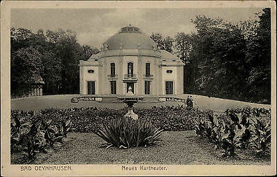 Bad Oeynhausen Nordrhein-Westfalen ~1910 Neues Kurtheater Theater Parkanlage