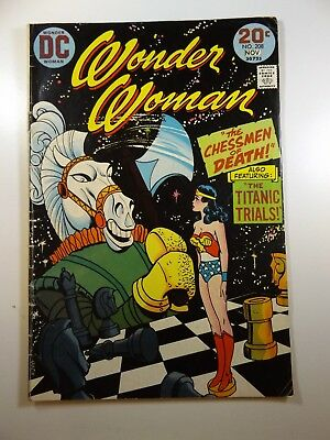 "Wonder Woman #208 ""Chessmen of Death!"" Solid VG Condition!!"
