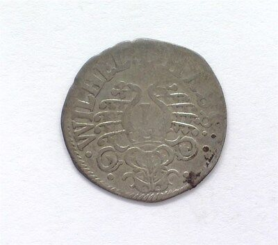 Hesse-Cassel 1637 1/32 Thaler -German State- Extremely Fine  Km#106
