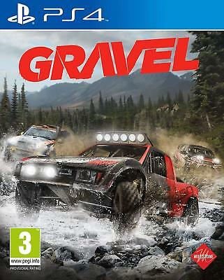 Gravel [Sony PlayStation 4 PS4 Off-Road Arcade Racing Realistic Physics] NEW