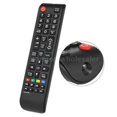 Universal Remote Control for Samsung LED LCD 3D TV Smart HDTV AA59-00786A Black