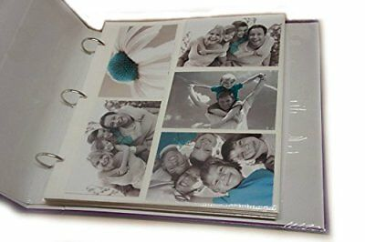 Arpan 20 Refill Photo Album Sheet Holds 6x4'' 200 Photos For Large Ringbinder