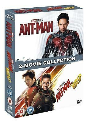 ANT-MAN 1+2 (2015+2018) + AND THE WASP: MARVEL Double NEW Eu Region 2 DVD NOT US