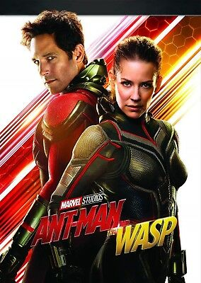 ANT-MAN (2018 - 2) AND THE WASP: MARVEL, Action, Comedy, Paul Rudd - NEW Rg1 DVD