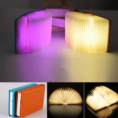 Reading Book LED Night Light USB Rechargeable Foldable Lamp Desk Booklight Magic