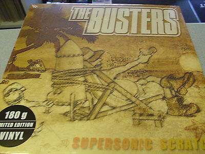 The Busters - Supersonic Scratch - LP 180g LIMITED Vinyl //// Neu & OVP