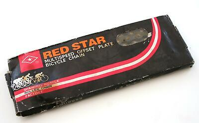 """RED STAR Mountain Bike Bicycle HYBRID CHAIN - 1/2"""" x 3/32"""" SUPER STRONG 114 link"""