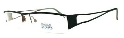 10x Brille Collection Creativ Brillengestell Mod. 679 Col 360 schwarz/kupferfarb