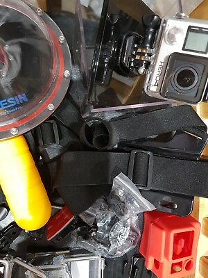 GoPro Hero 4 Silver Edition (and lots of extras)