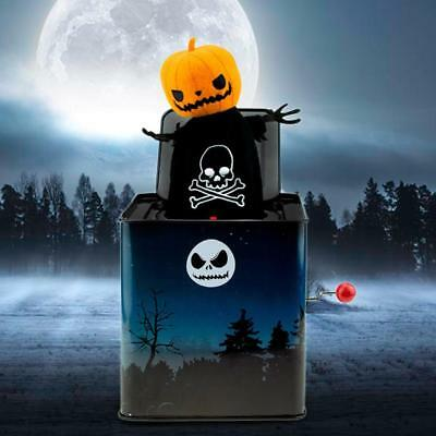 Halloween Kid's Trick Toy Party Monster Pumpkin Music Box Funny Toys UK